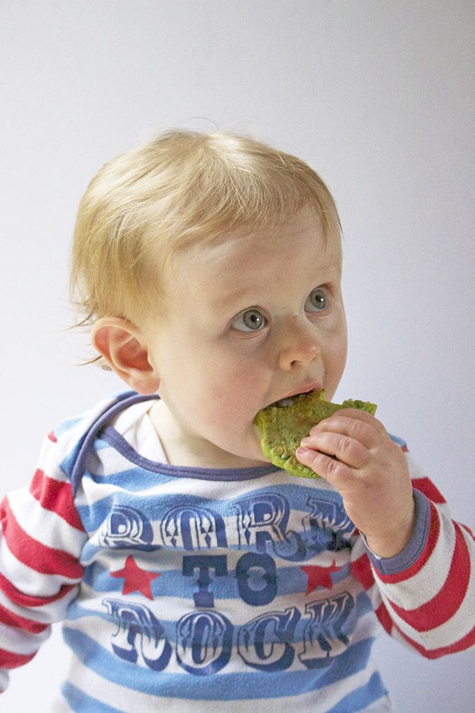 pea fritters great for baby led weaning