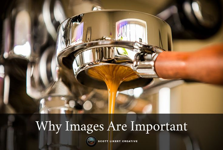From the blog post why images are important. More posts on scottlikertcreative.com