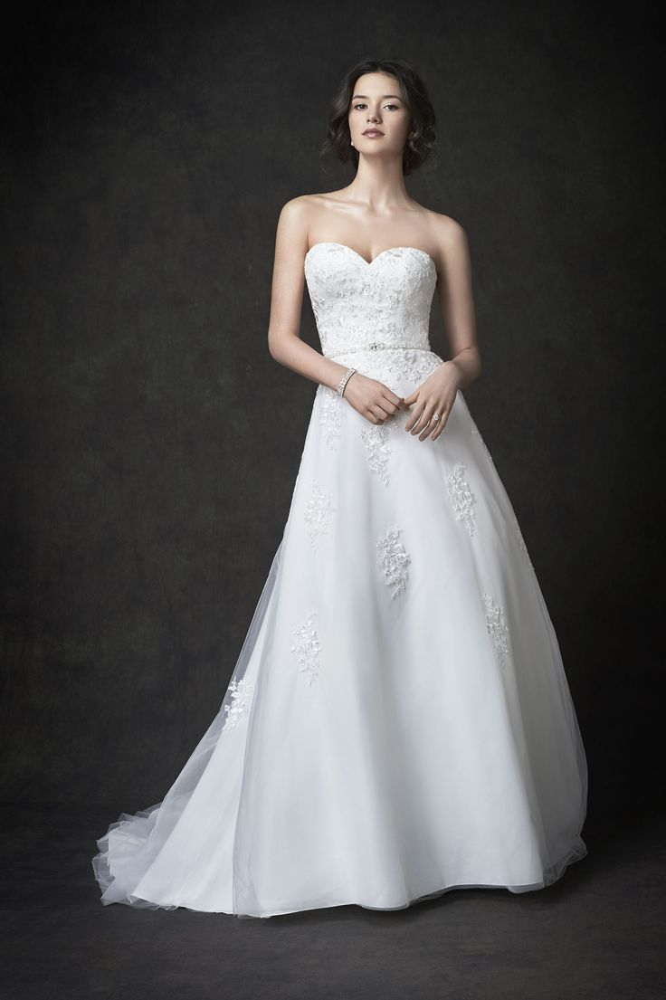 31 best megans wedding dresses images on pinterest wedding gallery style ga2271 stunning strapless lace and netting bridal gown romantic garden wedding ombrellifo Image collections