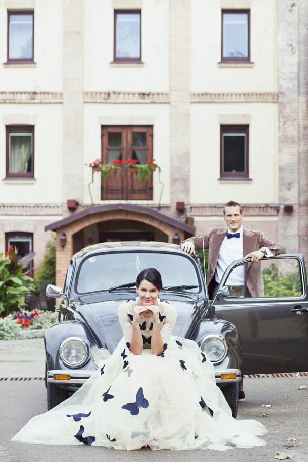 butterfly wedding in lithuania irma gediminas