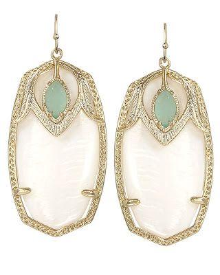 Kendra Scott- Darby earrings...obsessed for summer