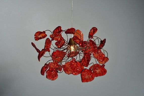 Color Glass Lamp Shads