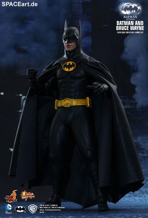 Batmans Rückkehr: Batman und Bruce Wayne, Deluxe-Figuren (voll beweglich) ... https://spaceart.de/produkte/bm024.php