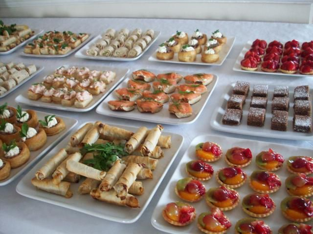 17 best images about buffet ideas on pinterest mini for Canape buffet menus