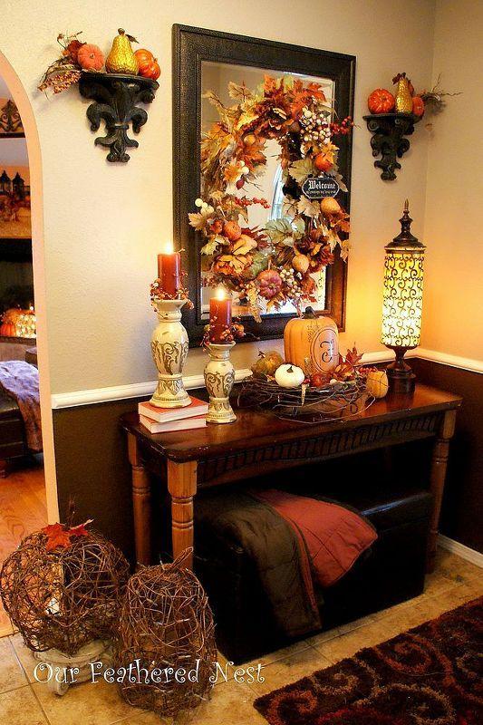 Thanksgiving Foyer Decor : Best fall entryway ideas on pinterest