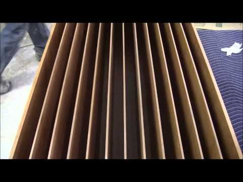 How to build an acoustic diffuser - YouTube