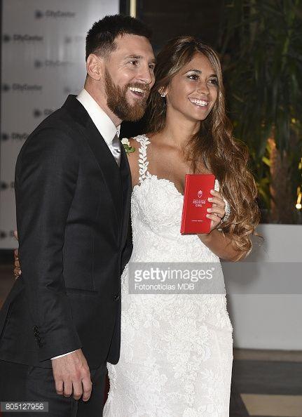 Lionel Messi and Antonela Rocuzzo