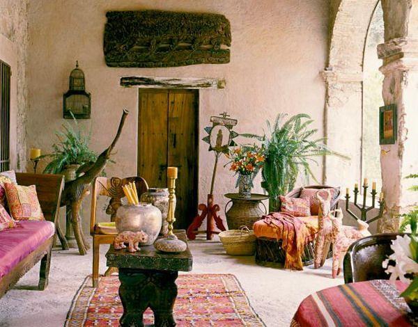Exotic Designs In Mexico Morocco Bali House Bohemian I Pinterest Contemporary Interior