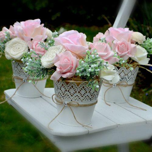 Svatební dekorace 3 kusy