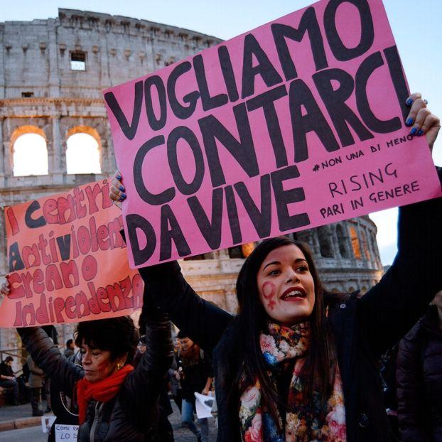 """Il corteo """"Non una di meno"""" a Roma, il 26 novembre"""