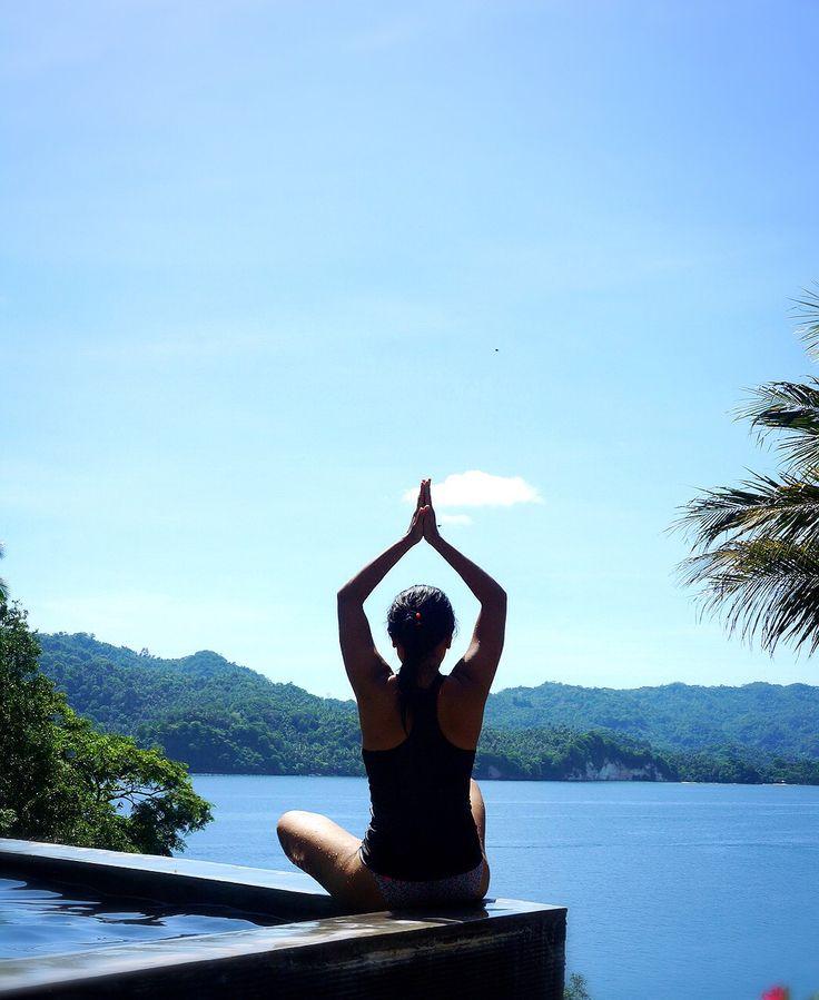 Sukhasana @Dabirahe, Lembeh Hills Resort, North Sulawesi, Indonesia