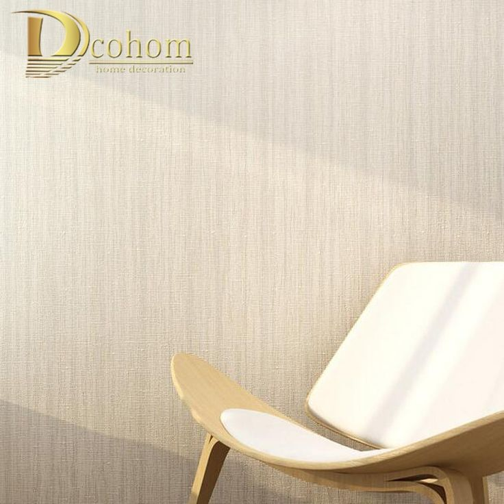 19.95$  Watch here - http://align3.shopchina.info/1/go.php?t=32705548752 - Modern Simple Solid Color Beige Striped Textured Wallpaper For Walls Bedroom Living room Home Decor Nonwoven Wall paper Rolls 19.95$ #bestbuy