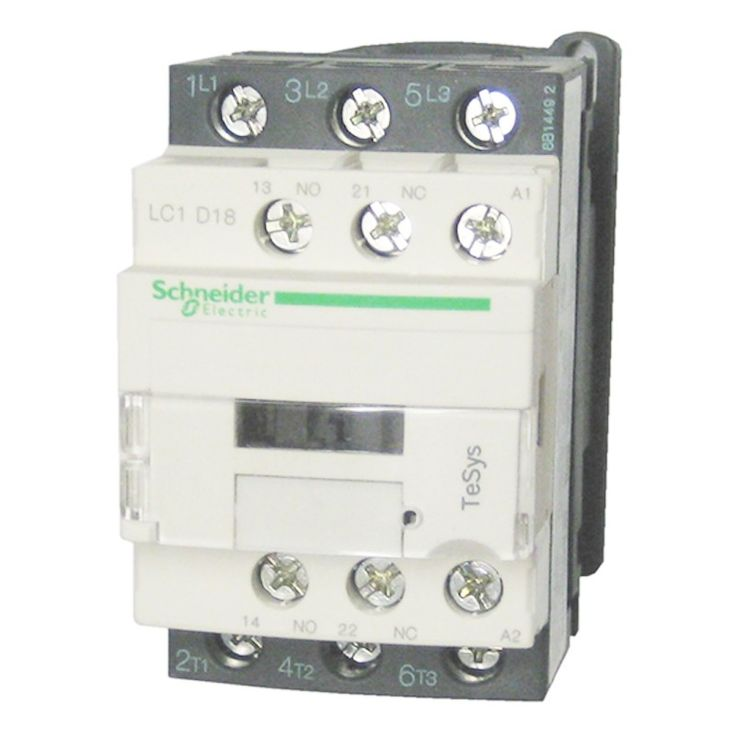 Schneider Telemecanique LC1-D38M7.  - Easily Installed Accessories - Auxiliary contact blocks with serrated wiping action - Front mount dust tight auxiliary contact blocks - Pneumatic time delay blocks - Transient voltage surge suppressors - Interface modules and electronic timers - Mechanical latching blocks - Harga Per Each.  http://kliklistrik.com/contactor/409-schneider-telemecanique-lc1-d38m7.html  #schneider #contactor #alatlistrik