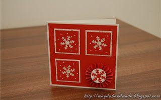 Felicitare de Crăciun MH031 / Christmas Greeting Card MH031