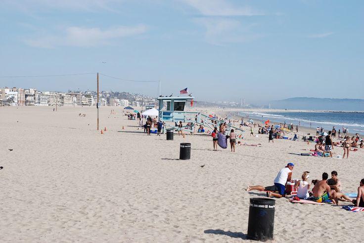 Hot day in Venice Beach, California