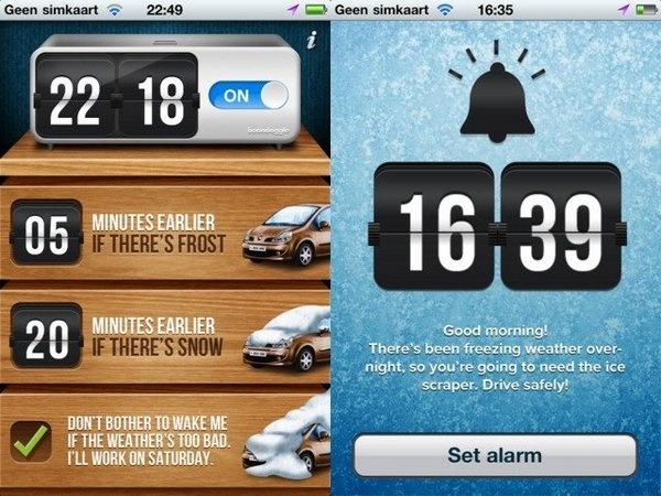 9d72536dc2781522f23e396883c295f7 its snowing alarm clock