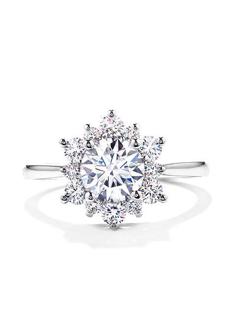 "Brides.com: Unique Engagement Ring Settings ""Filigree"" ring, $1,250, Blanca Monrós Gómez available at CatbirdPhoto: Courtesy of Catbird"