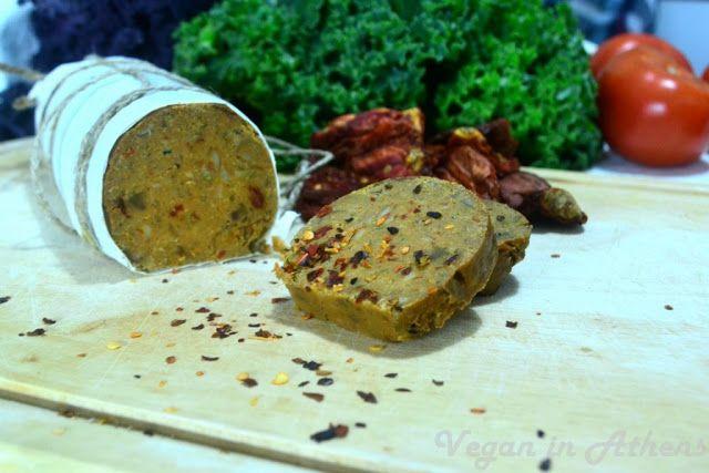 Συνταγές Vegan: Vegan σαλάμι πεπερόνι χωρίς γλουτένη!!!