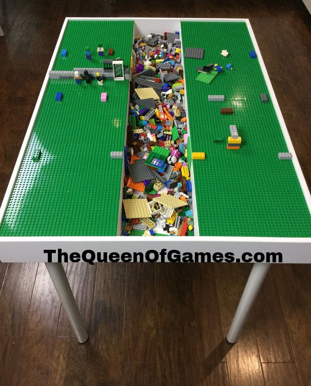 Merveilleux Kids Lego Table With Storage   Big Kids Lego Table In 2019 ...