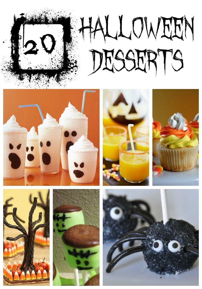 20 Halloween Treats {YUM!}