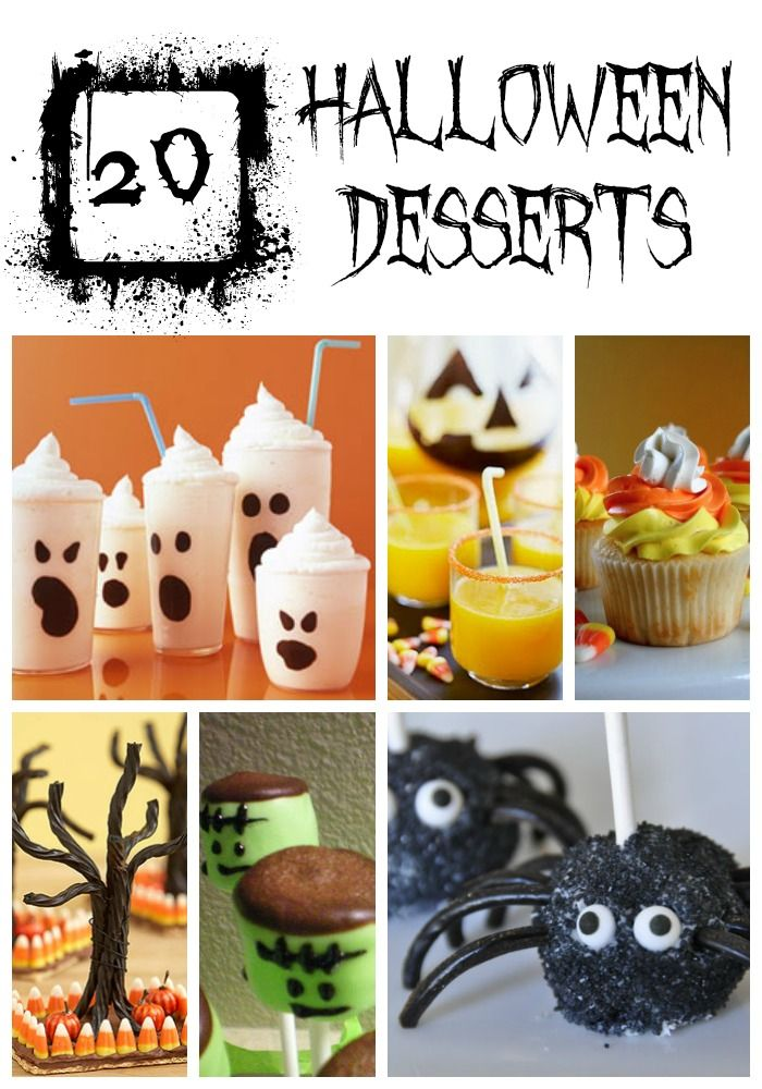 20 Halloween Treats {YUM!}