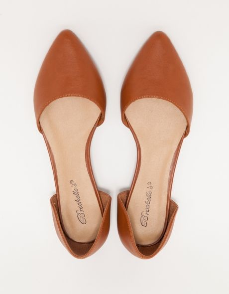 cognac d'orsay flats forever. just received these and can't wait to wear them with everything