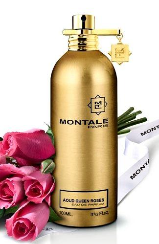 Aoud Queen Roses MONTALE Pachnie najpiękniejszymi różami z Grasse i Arabii. W sercu zapachu znajduje się hibiskus z Gwinei. Rodzina zapachowa: orientalna #montale