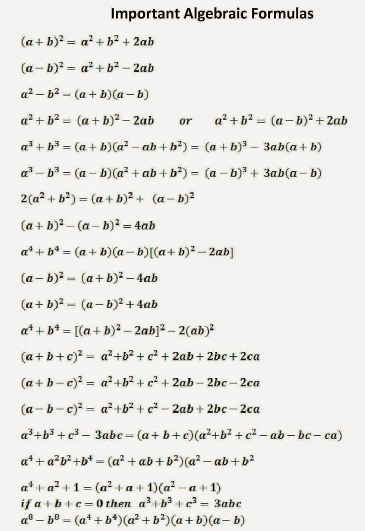 SSC Adda: Algebraic Formulas Part -1 #Mathematics