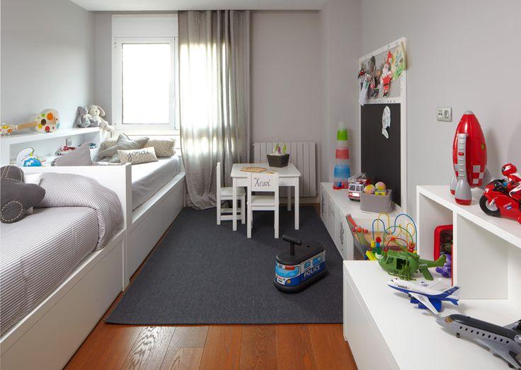 Las 25 mejores ideas sobre habitaciones compartidas en - Habitaciones infantiles compartidas ...