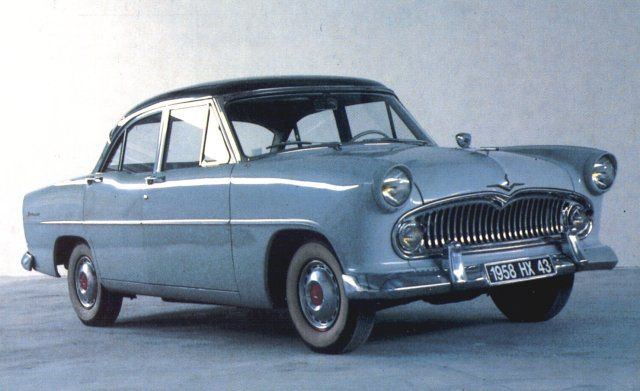 SIMCA-VEDETTE V8 1958 Maintenance/restoration of old/vintage vehicles: the material for new cogs/casters/gears/pads could be cast polyamide which I (Cast polyamide) can produce. My contact: tatjana.alic@windowslive.com