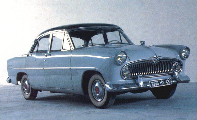 SIMCA-VEDETTE V8 1958