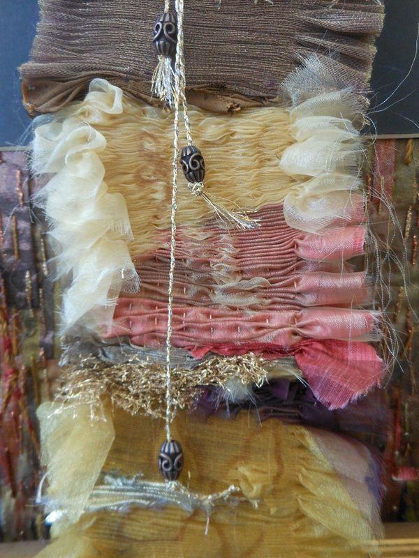 Jill Dian Izzard - pleated fabrics