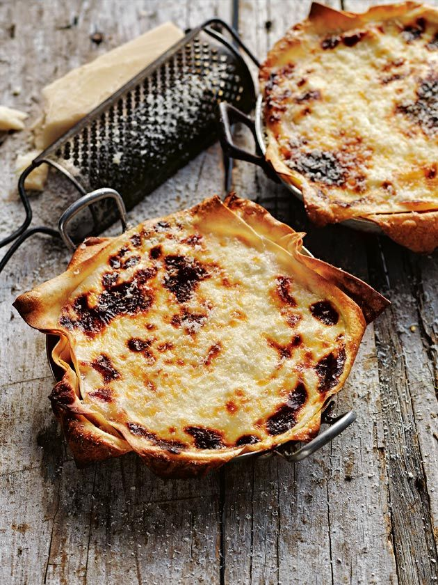 pork and fennel cheat's lasagne