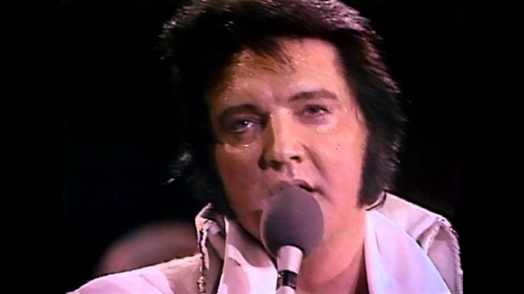 Elvis Presley - My Way (High Quality) in concert ~ 1977, He had a beautiful voice all the way to the end of his life.