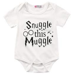 Muggle Newborn Romper