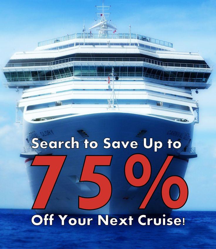 Compare & Search to Save Up to 75% Off Your Next Cruise!All the top travel deals and discounts from the top networks. Save big when all the top providers for flights, package vacations, all inclusive, hotels and resorts, rental cars and compete for your patronage.