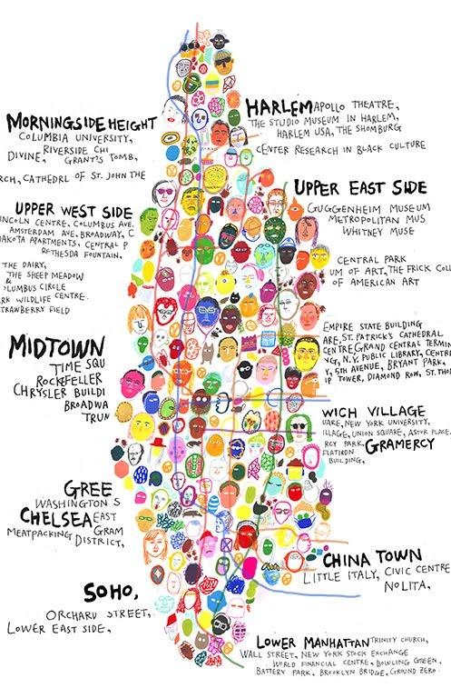 Neighborhoods, Manhattan  #manhattan, #rentnyc