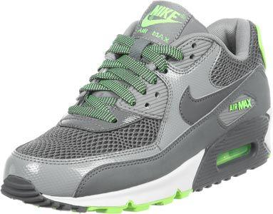Nike Air Max 90 W grey neon green