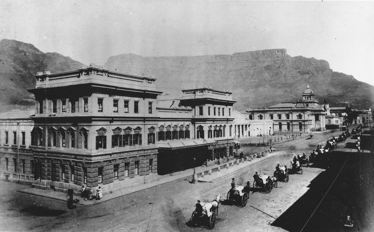 The Old Cape Town Station c1890