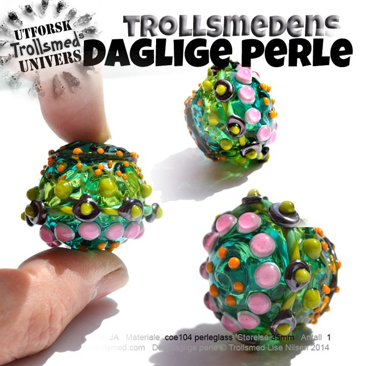 Trollsmeds hollow big beads