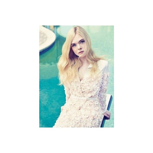 Totally Elle Fanning Your Number 1 Fansite ❤ liked on Polyvore featuring elle and elle fanning