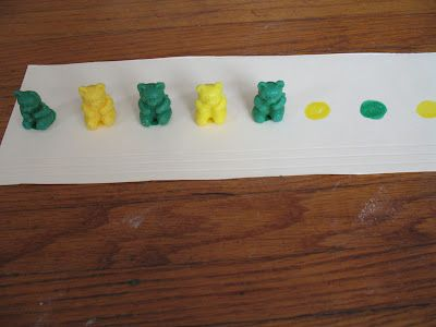 patterning, and many other counting bears activities