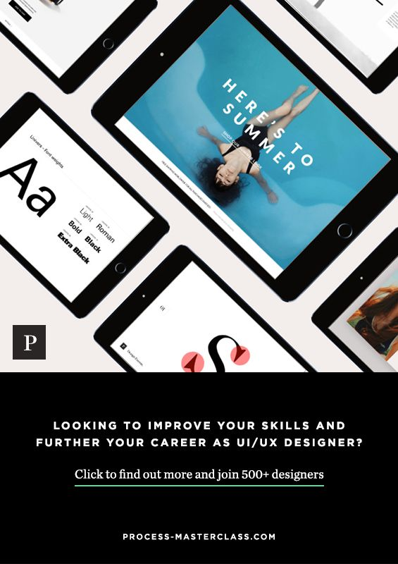 Looking to improve you skills and further your career as a UI/UX designer? Have a few years experience and looking to bridge the gap to becoming a creative leader? Click to check out the course and join 500+ designers.