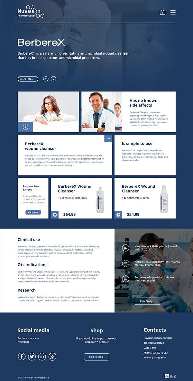 BerbereX® Website on Behance