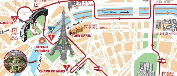 Big Bus Tours Bus Route