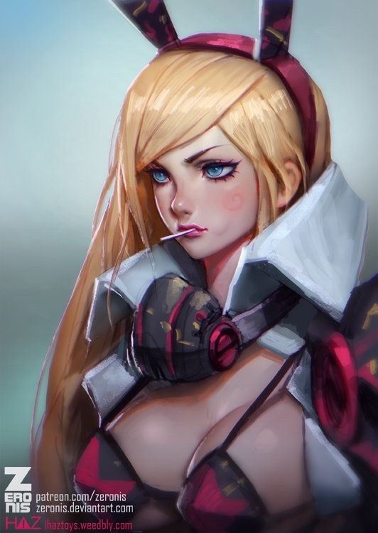 ArtStation - Remi-7 Lollipop, Paul Kwon
