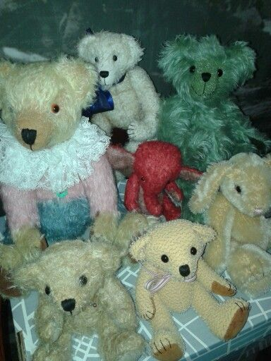 Bears designed and made by Japir