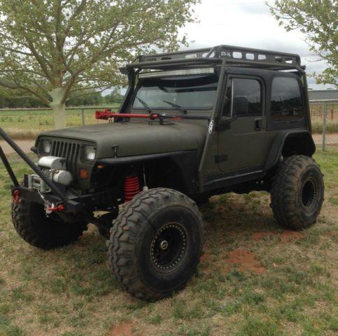 "1989 Jeep Wrangler YJ 4X4, 2-Door 4.0L Rock Crawler ""NO RESERVE ..."