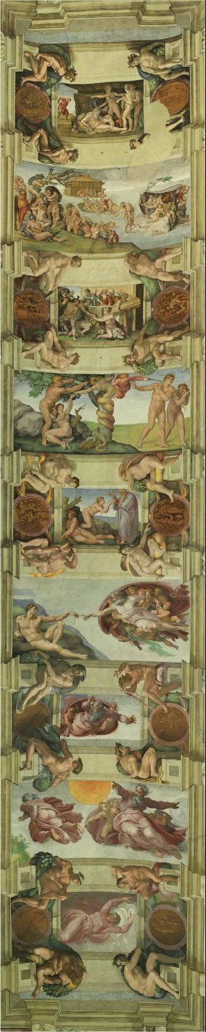 Sistine Chapel- Rome Italy. Simply breathtaking . I got to view the Sistine Chapel, August 20, 2013. It is truly a treasure.