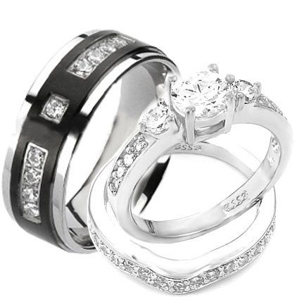 Best 25 His and her wedding rings ideas only on Pinterest His
